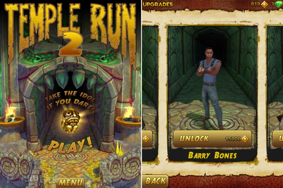 Temple Run; le jeu aux 170 million de téléchargement; à atteint un